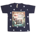 Boys Half Sleeves T-Shirt - Navy Blue