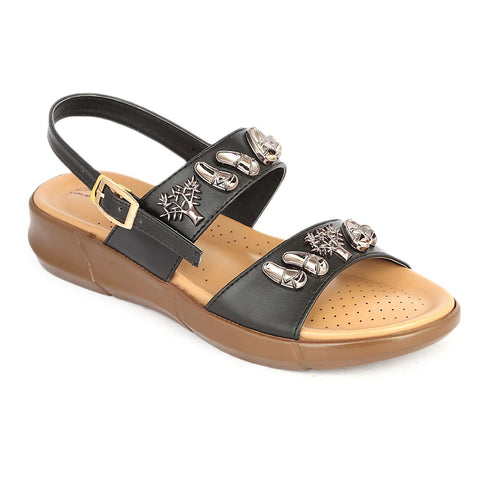 Women's Sandal ( S-222 ) - Black