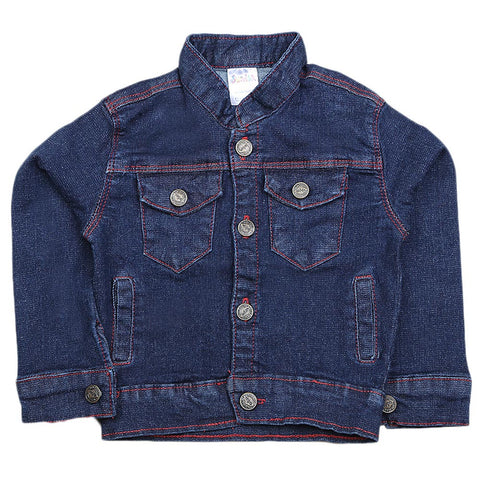 Newborn Unisex Denim Jacket - Blue