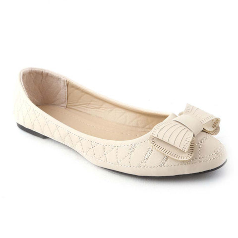 Women's Fancy Pumps (25ATG) - Beige