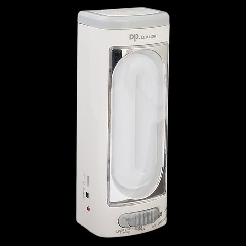 Rechargeable Emergency Light (DP-7159) - White