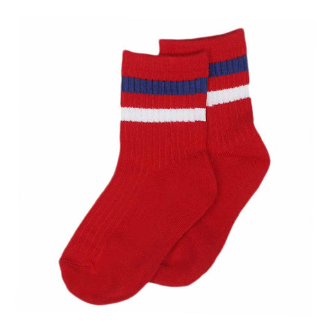Boys Socks - Red