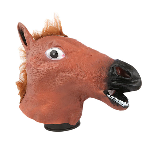 Horse Mask Toy - Brown - test-store-for-chase-value