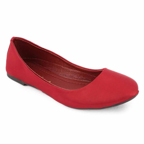 Women's Fancy Pumps (1832) - Maroon