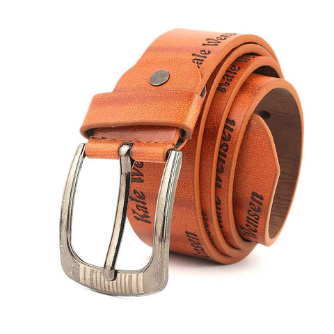 Men's Belt - Mustard - test-store-for-chase-value