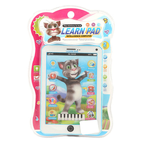 Talking Tom Learn Pad - Blue - test-store-for-chase-value