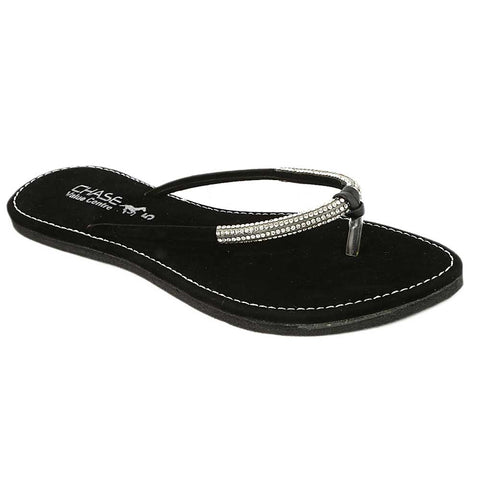 Women's Slipper (J322) - Black