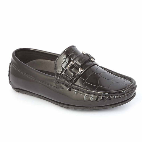 Boys Loafer 311A -Black