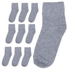 Men's Socks 10 Pcs - Grey