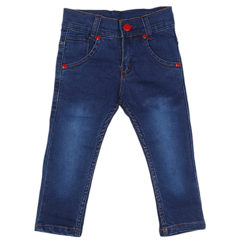 Boys Denim Pant - Dark Blue