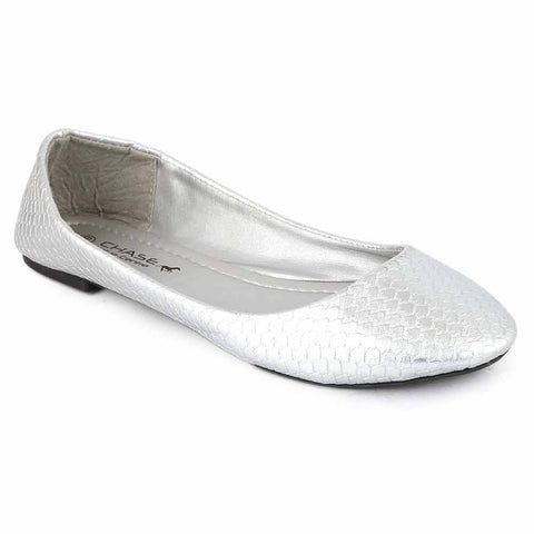 Women's Fancy Pumps (912) - Silver