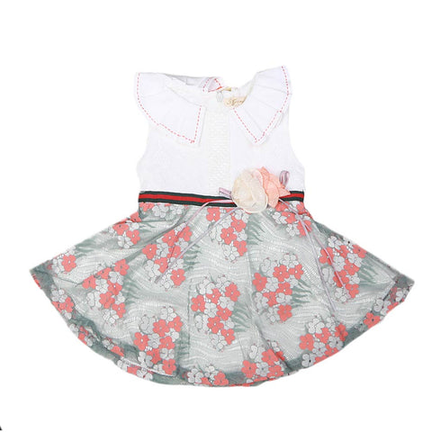 Newborn Girls Frock - T Pink