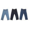Boys Denim Pant Pack Of 3 - Multi
