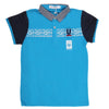 Boys Half Sleeves Round Neck T-Shirt - Blue