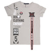 Boys Half Sleeves Round Neck T-Shirt - Grey