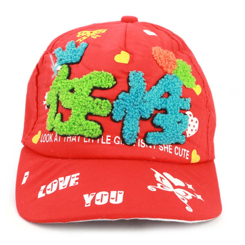 Kids P-Cap - Red