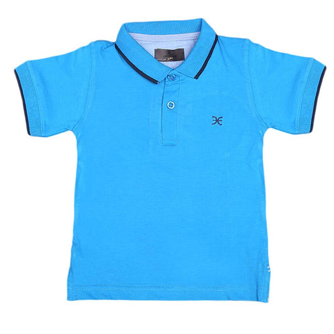 Boys Eminent Half Sleeves T-Shirt - Blue