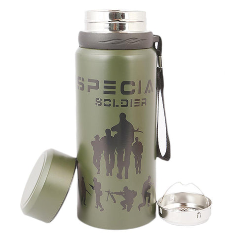 Flask Bottle 600 ML - Green