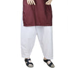 Men's Cotton Shalwar - White