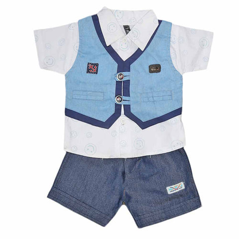 New Born Boys Suits - Blue