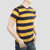 Men's Round Neck T-Shirt - Mustard