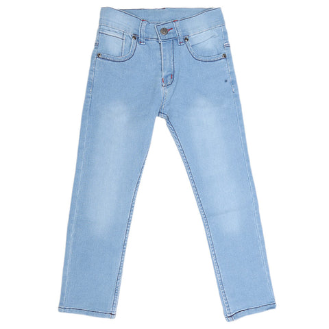 Boys Denim Pant - Blue