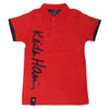 Boys Polo Half Sleeves T-Shirt - Red