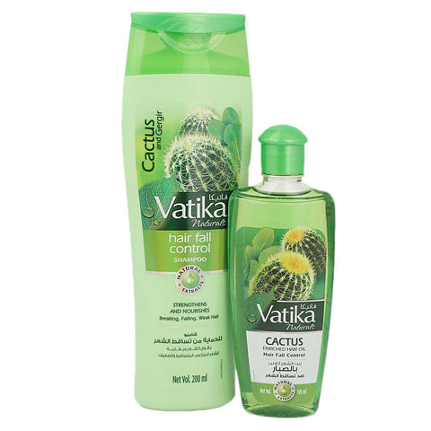 Vatika Value Pack Oil + Shampoo