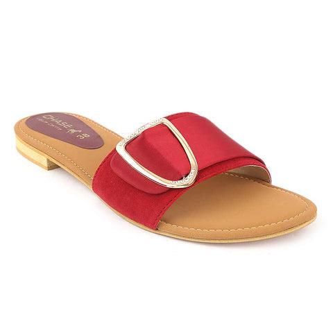 Women's Slipper - Maroon (M 906) - test-store-for-chase-value