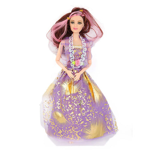 Fashion Girl Doll - Purple