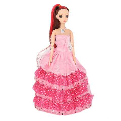 Fashion Girl Doll - Pink