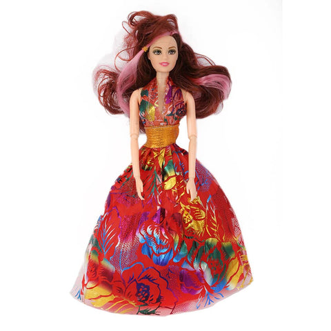 Fashion Girl Doll - Red