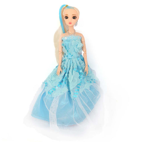 Fashion Girl Doll - Light Blue