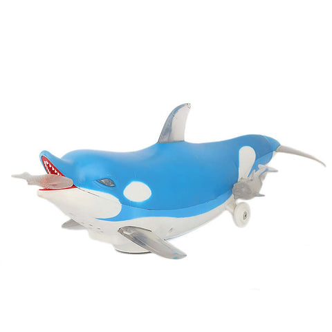 Battery Operated Happy Dolphin For Kids - Blue