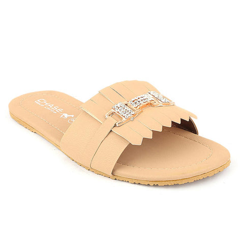 Women's Slipper (I 01) - Fawn