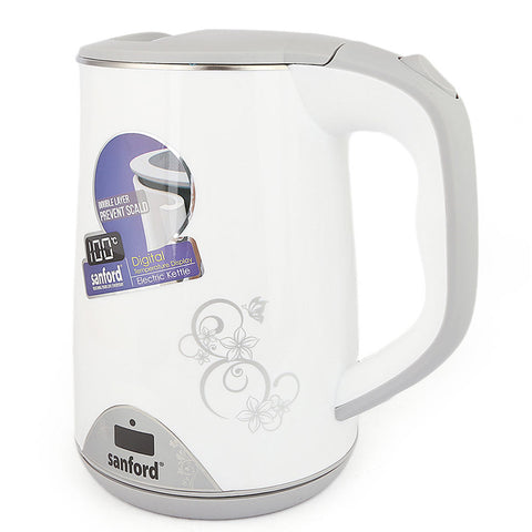 Sanford Electric Kettle(SF1869EK) - White