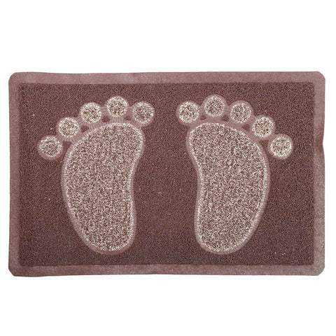 Grass mat Double Color 38x58 - Coffee