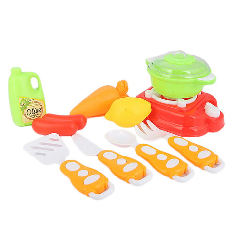 Kitchen Play Set For Kid - Multi