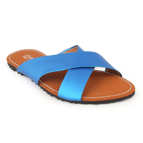 Girls Slipper  (710 A) - Blue