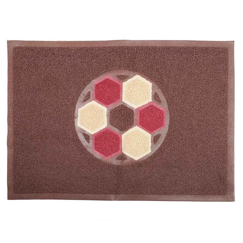Grass Mat Double Color 48x68 - Coffee