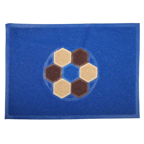 Grass Mat Double Color 48x68 - Blue
