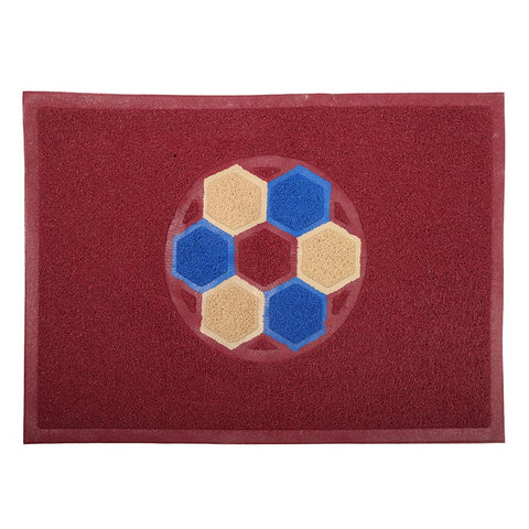 Grass Mat Double Color 48x68 - Maroon
