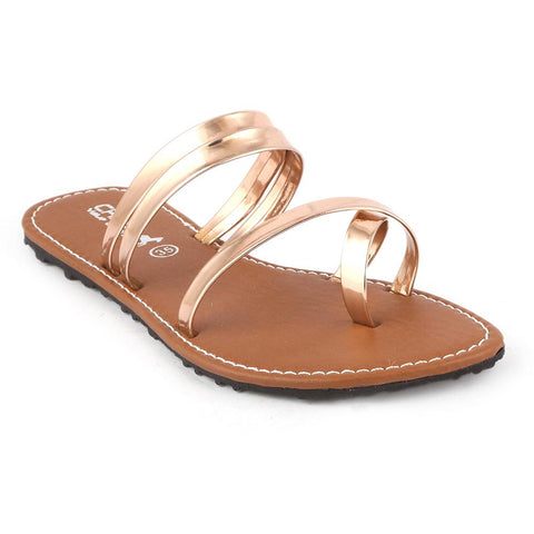Girls Slipper  (07-A) - Golden