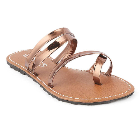 Girls Slipper  (07-A) - Brown