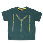 Boys Ertugrul Ghazi T-Shirt - Steel Green