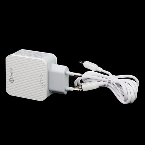 Dany Bullet Mobile Charger (H-130) - White