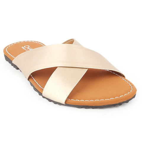 Girls Slipper - Fawn (710 A)