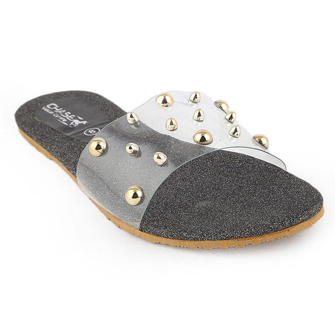 Women's Slipper - Black (I 03)