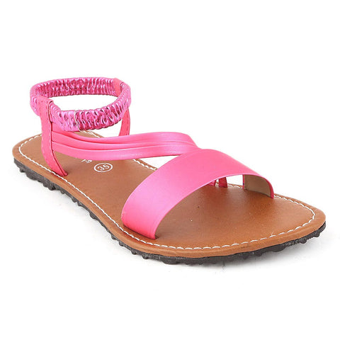 Girls Slipper  (711 A) - Pink