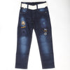 Boys Cotton Pant - Dark Blue